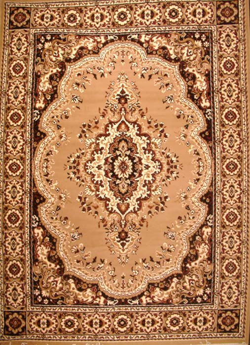 Brown Colored Poly Cotton Carpet