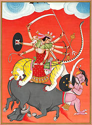 Durga - Narrative Art of Warrior Goddess