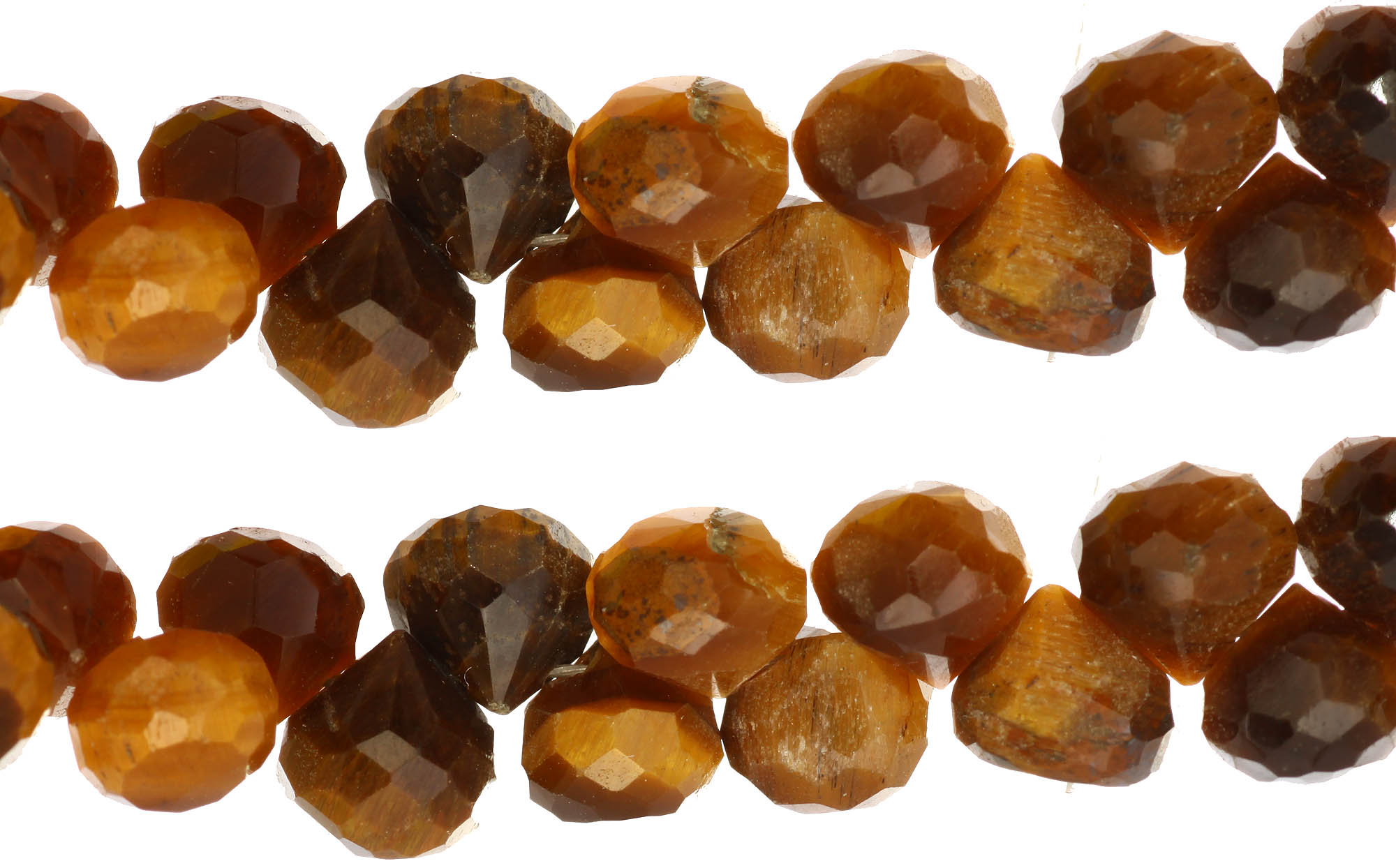 faceted hessonite onions