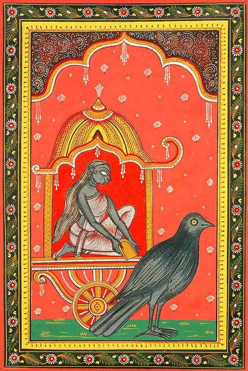 Goddess Dhumavati (Ten Mahavidyas)