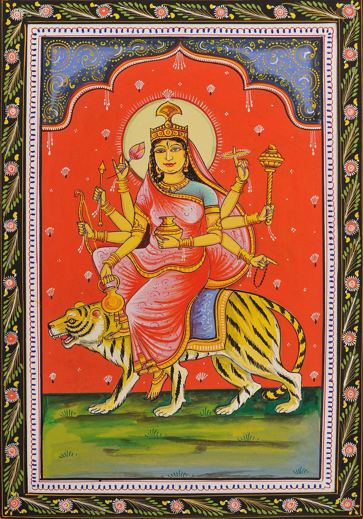 KUSHMANDA - Navadurga (The Nine Forms of Goddess Durga)