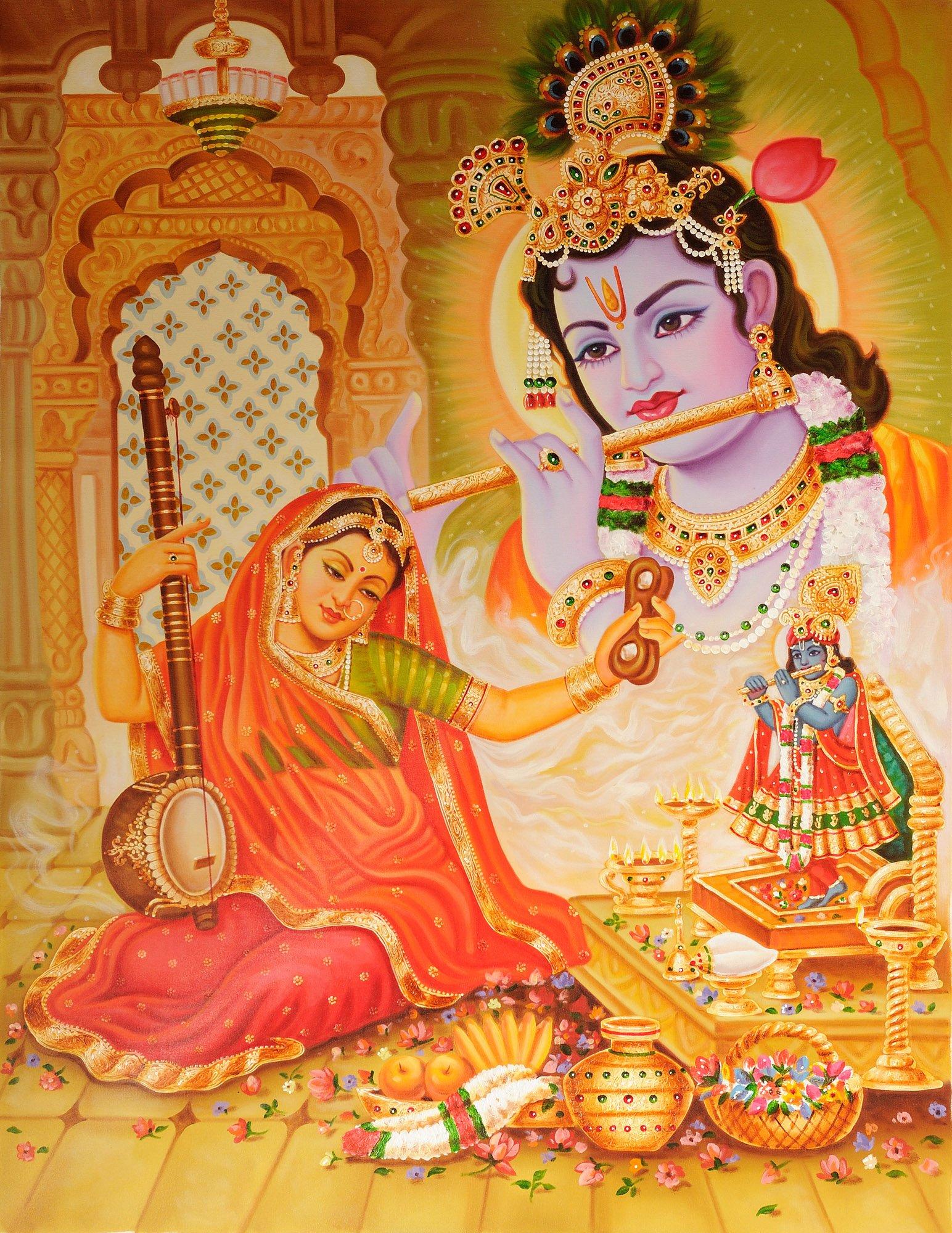 mirabai and krishna