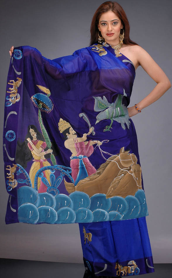 Hand Painted Silk Scarves Artists