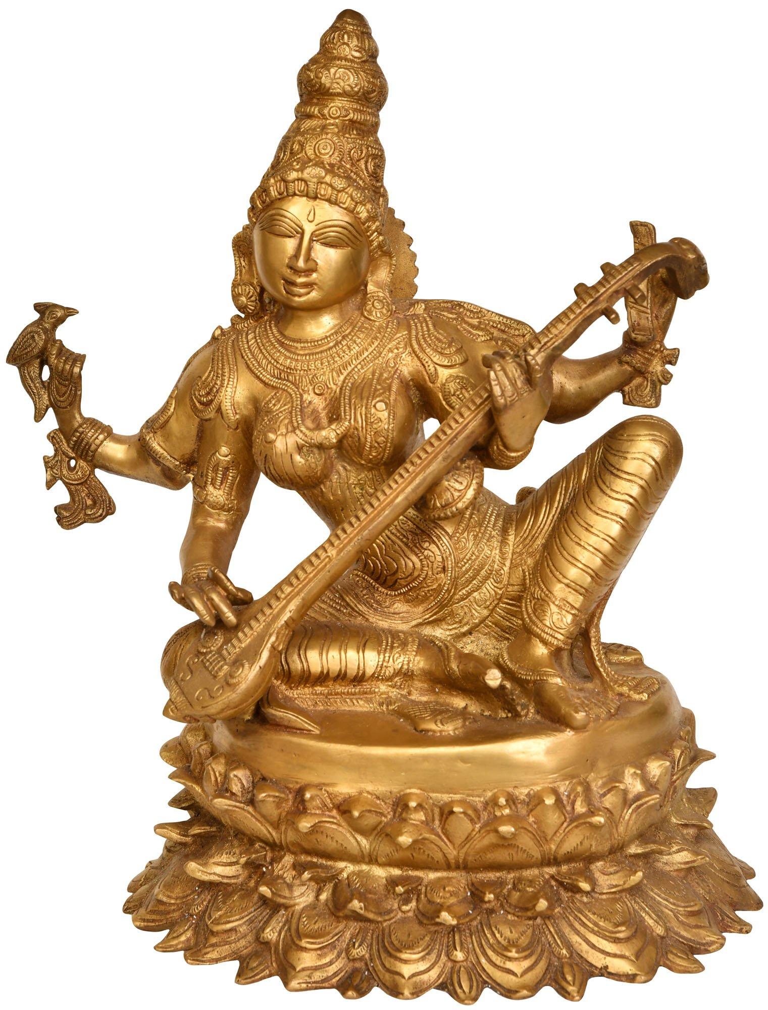 c816b97d405 Four-Armed Goddess Saraswati