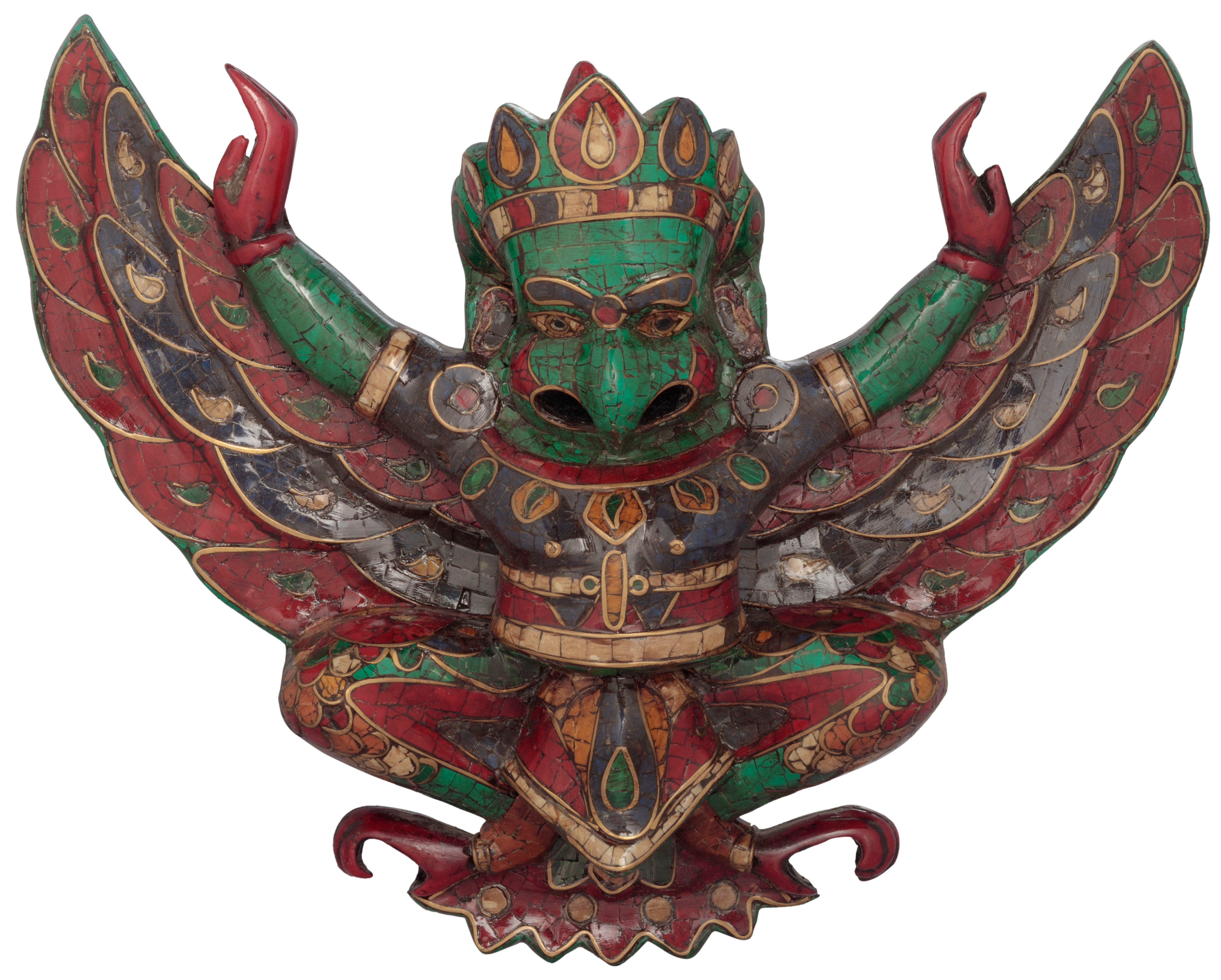 Garuda Wings Wing Pilot With Stretched Out Wall Hanging Inlay 4624x3712
