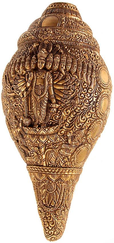 Vishvarupa Vishnu Conch Wall Hanging