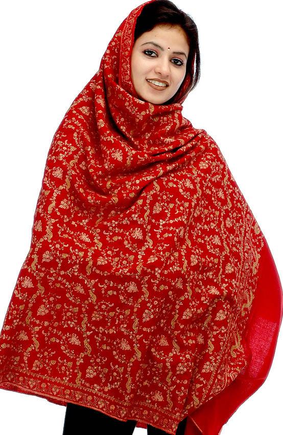 pashmina shawl kashmiri shawls pure embroidery pakistan dense dukandar pakistani fx90