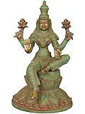 Antique Green Chola