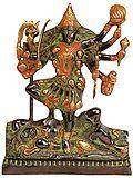 Sindoori Black Green Gold