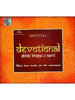 Essential Devotional: Shlok, Bhajan & Aarti Must Have Tracks For The Connoisseur (Set of 5 Audio CDs)