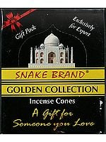 Snake Brand Golden Collection Incense Cones: A Gift For Someone You Love (Incense)