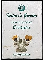 Eucalyptus - Nature's Garden Incense Cones (Pack 4 Packets)