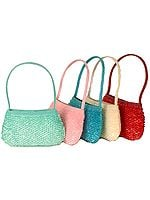 Lot of Five Handbags with Heavy Sequins