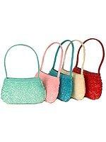 Lot of Five Handbags with Heavy Sequins