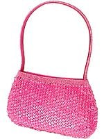 Pink Purse with Heavy Sequins