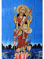 Saraswati the Goddess of Wisdom, Music, and Dance