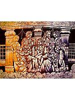 Gossips amongst Apsaras