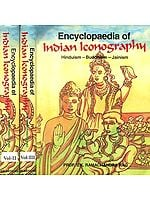 Encyclopaedia of Indian Iconography (Hinduism- Buddhism- Jainism) (In Three Volumes) Old Book