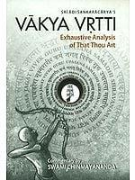 Vakya Vritti of Adi Sankara