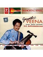 Gayathri Veena Carnatic Classical Instrumental (Audio CD) - Immortal Series