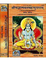 श्रीमद्भागवतमहापुराणम्: Shrimad Bhagavat Mahapurana in Marathi (Set of 2 Volumes)