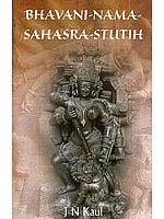 Bhavani Nama Sahasra Stutih (The Thousand Names of Bhavani) - A Page from Rudrayamala Tantra