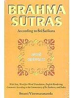 Brahma Sutras According to Sri Sankara