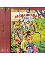 Mahabharata (Three Volume Comic Book)