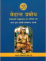 वेदांत प्रबोध Vedanta Prabodha: The Most Comprehensive Book Ever Published on Shankara Vedanta (In Hindi)