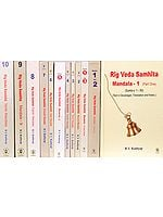 The Complete Rig Veda  - 12 Volumes