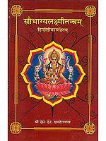 सौभाग्यलक्ष्मीतंत्रम हिन्दी टीका सहित (Soubhagya Laxmi Tantram)