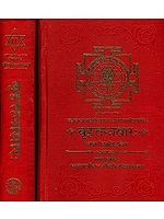 बृहत्तन्त्रसार (संस्कृत एवम् हिन्दी अनुवाद): Brihat Tantra Sara (Set of 2 Volumes)