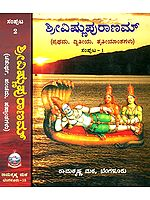 ಶ್ರೀವಿಷ್ಣುಪುರಾಣ: Shri Vishnu Purana in Kannada (Set of 2 Volumes)