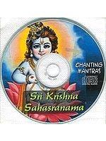 Sri Krishna Sahasranama (Chanting Mantras with Book of Sri Krishna Sahasranama) (Audio CD)