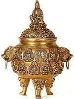 Kuan Yin Incense Burner