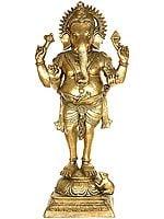 Lord Ganesha with Short Dhoti