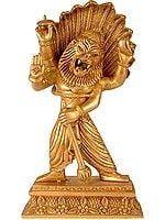 Lord Vishnu's Narasimha Avatara