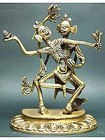 The Citipati- The Lord or Master of the Cemetery (Tibetan Buddhist Deities)