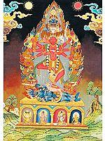 Guhyakali - The Secret Form of Goddess Kali