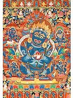 Mahakala as The Supreme Protector of Buddhist Monasteries