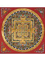 Mandala of Auspicious Syllabled Mantra