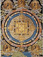 Sacred Mantra Mandala