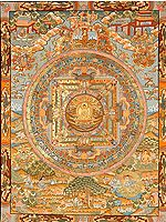 The Buddha Mandala and Episodes from His Life