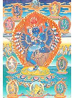 The Esoteric Dance (Hevajra in Yab Yum)