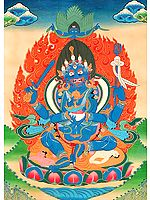 The Four Positive Karmas of Mahakala