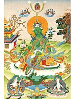 The Savior Goddess Green Tara