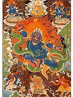 Tibetan Wrathful Deity