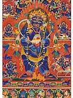 Standing Mahakala (Tibetan Buddhist)