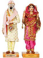 Bride and Bridegroom - Punjab