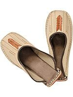 Slip-on Shoes for Men with Threadwork
